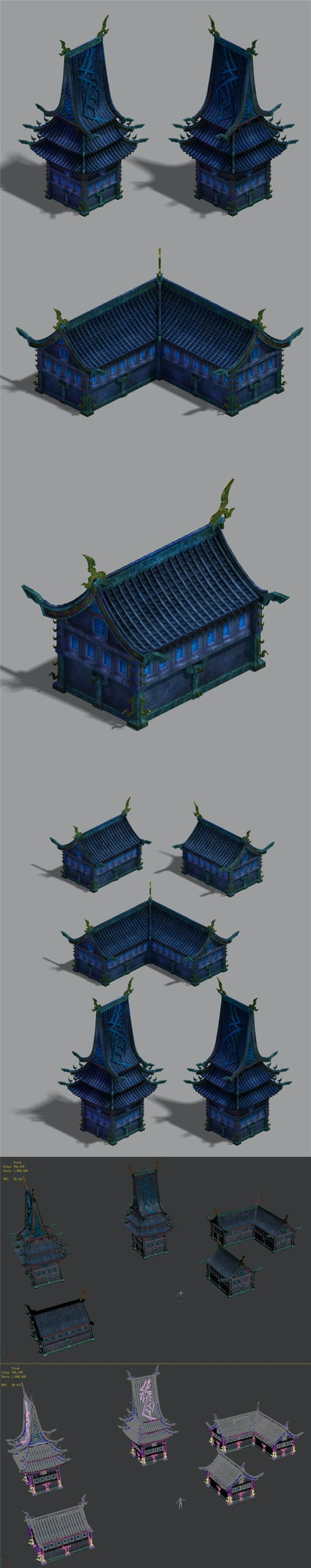 Magic territory - building a small house - 3DOcean Item for Sale
