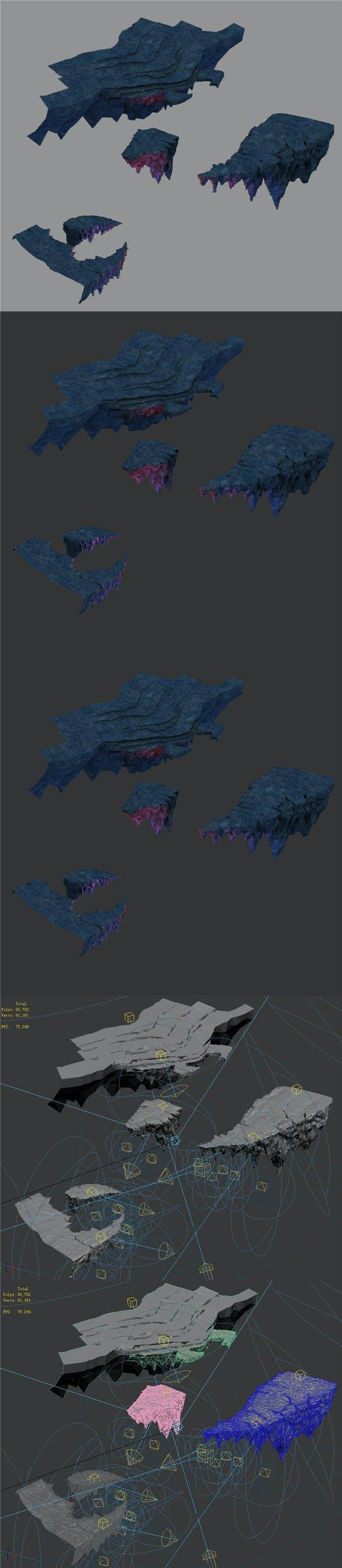 Magic territory - stone road - 3DOcean Item for Sale