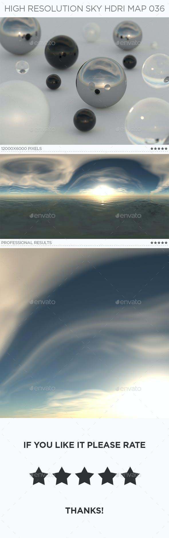 High Resolution Sky HDRi Map 036 - 3DOcean Item for Sale