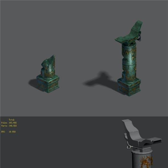 Magic territory - pillars