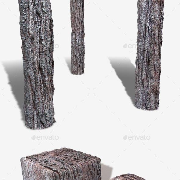 Crusty Bark Seamless Texture