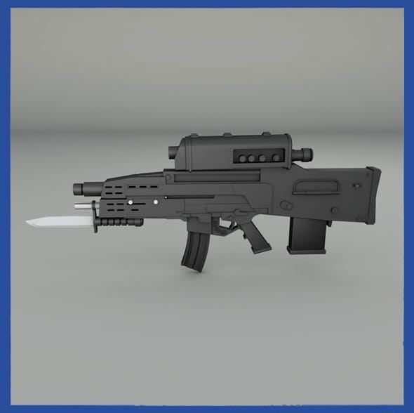 XM-29 Combat Weapon - 3DOcean Item for Sale