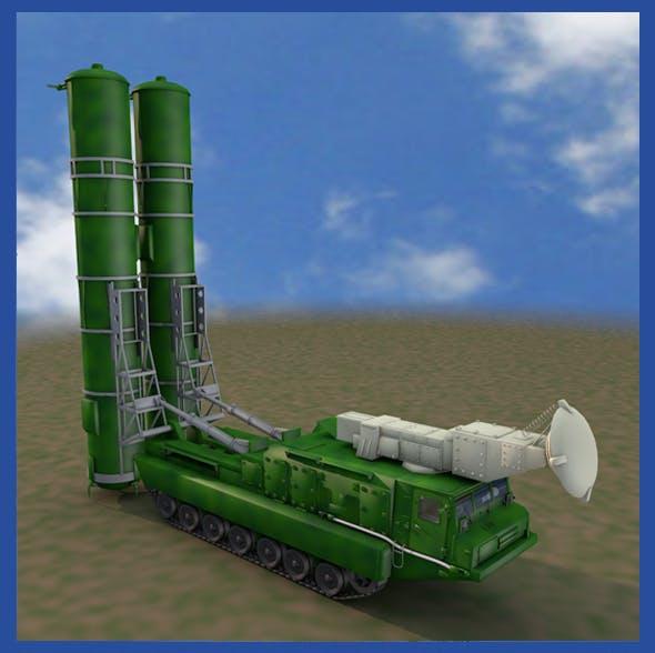 S300PMU Soviet Missle Launcher - 3DOcean Item for Sale