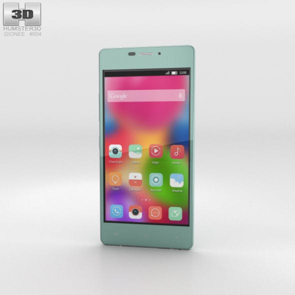 Gionee Elife S5.1 Mint Green - 3DOcean Item for Sale