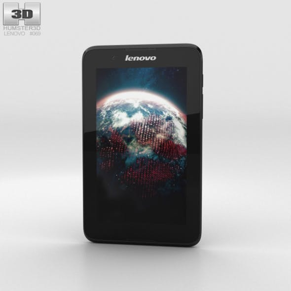 Lenovo A7-30 A3300 Black - 3DOcean Item for Sale