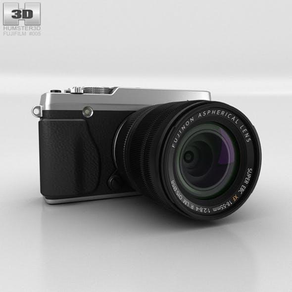 Fujifilm X-E1 Silver - 3DOcean Item for Sale