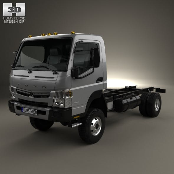 Mitsubishi Fuso Canter Chassis Truck 2013
