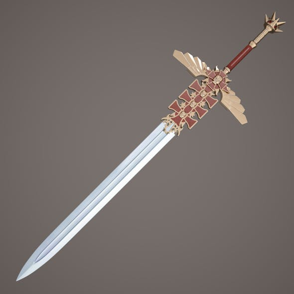 Fantasy sword - 3DOcean Item for Sale