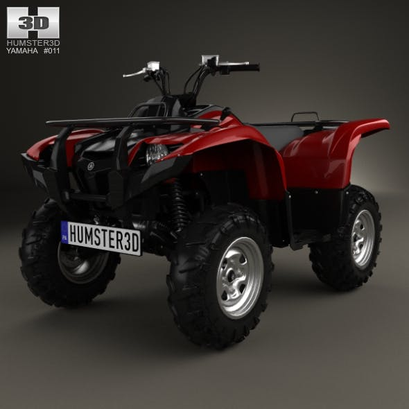Yamaha Grizzly 700 2013 - 3DOcean Item for Sale