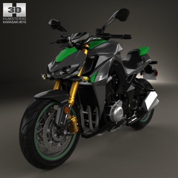 Kawasaki Z1000 2014 - 3DOcean Item for Sale