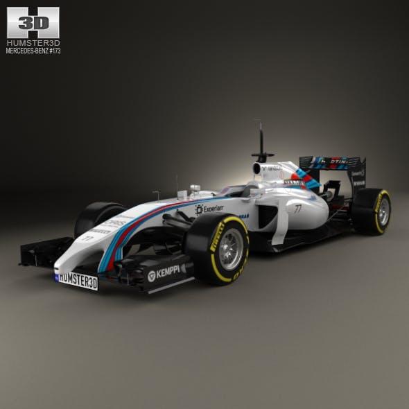Williams FW36 2014 - 3DOcean Item for Sale