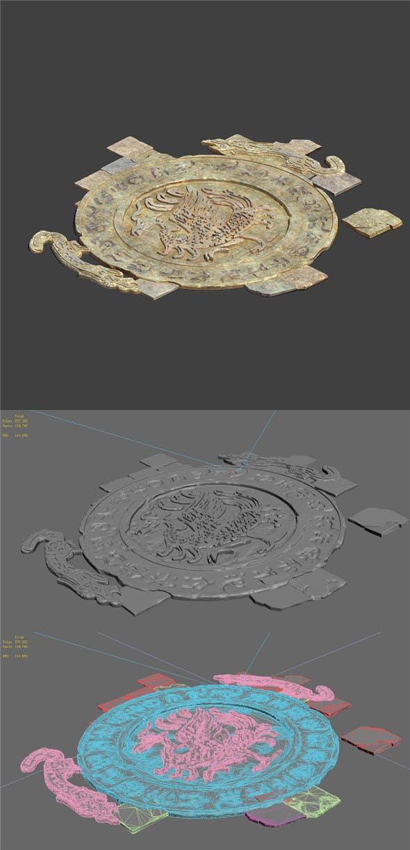 Desert - broken stone floral - 3DOcean Item for Sale