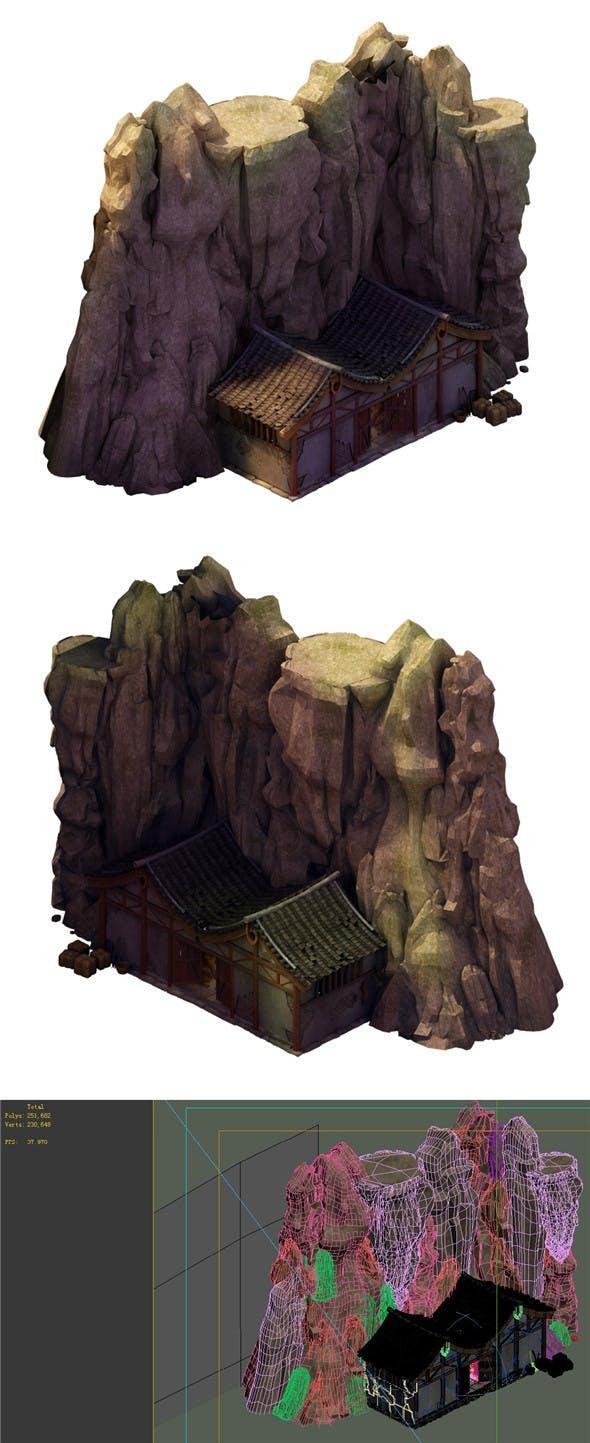 Desert Gobi - Inn Hut - 3DOcean Item for Sale