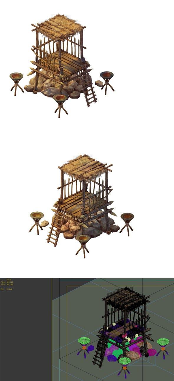 Desert Gobi - Outpost 04 - 3DOcean Item for Sale
