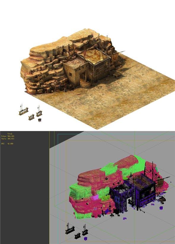Desert Gobi - Weapons Room 03 - 3DOcean Item for Sale