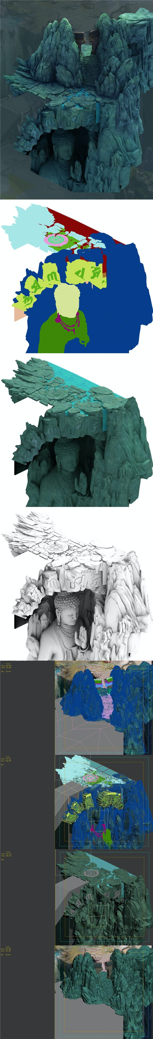 Mountain - Terrain 03 - 3DOcean Item for Sale