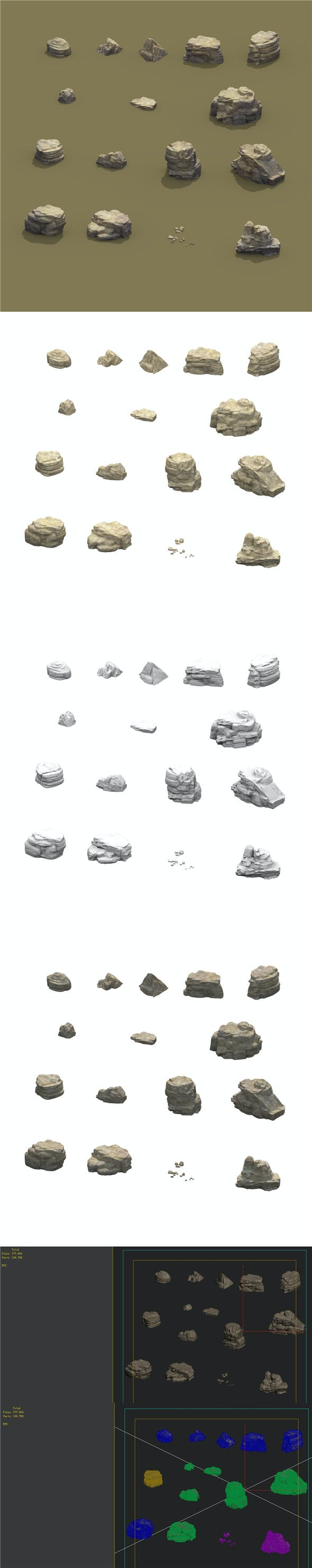 Mountain - Terrain 11 - 3DOcean Item for Sale