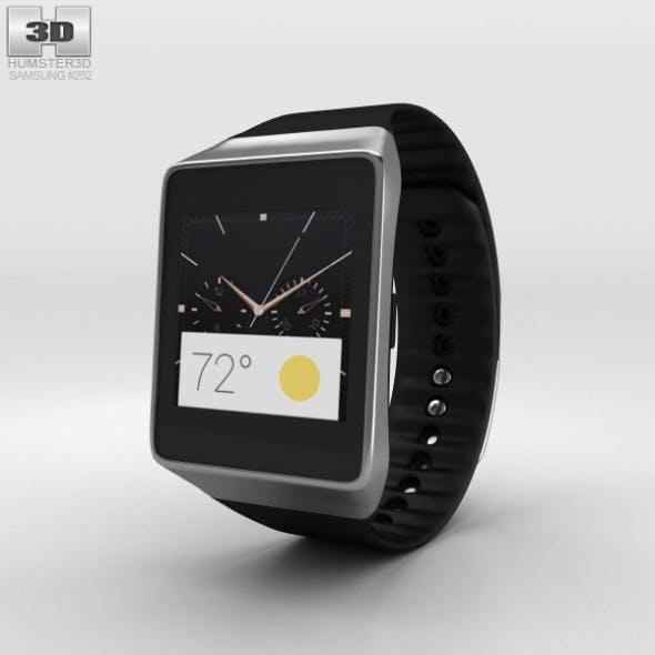 Samsung Gear Live Black - 3DOcean Item for Sale