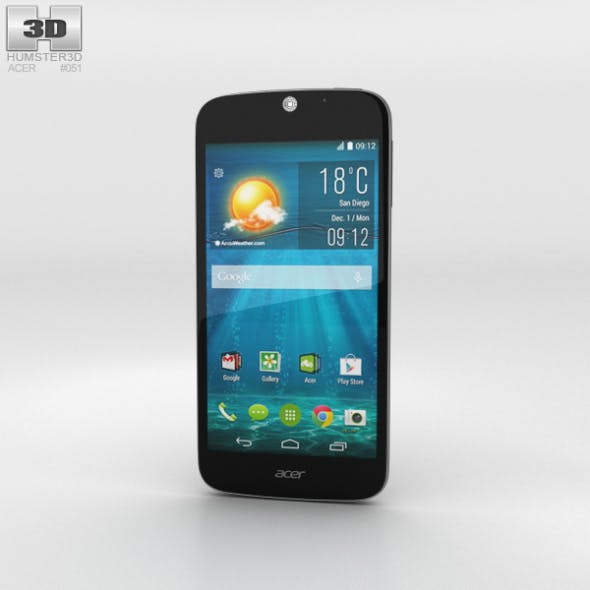 Acer Liquid Jade S Black