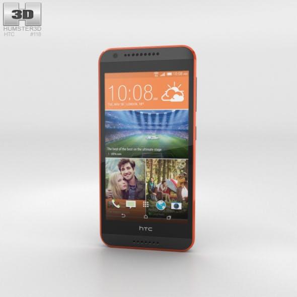 HTC Desire 620G Saffron Gray - 3DOcean Item for Sale