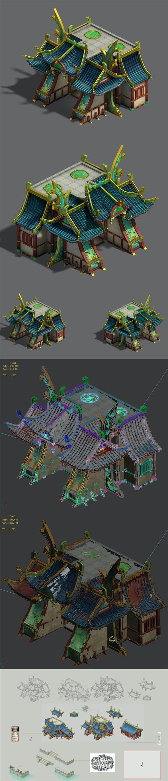 Market - City Architecture 03 - 3DOcean Item for Sale