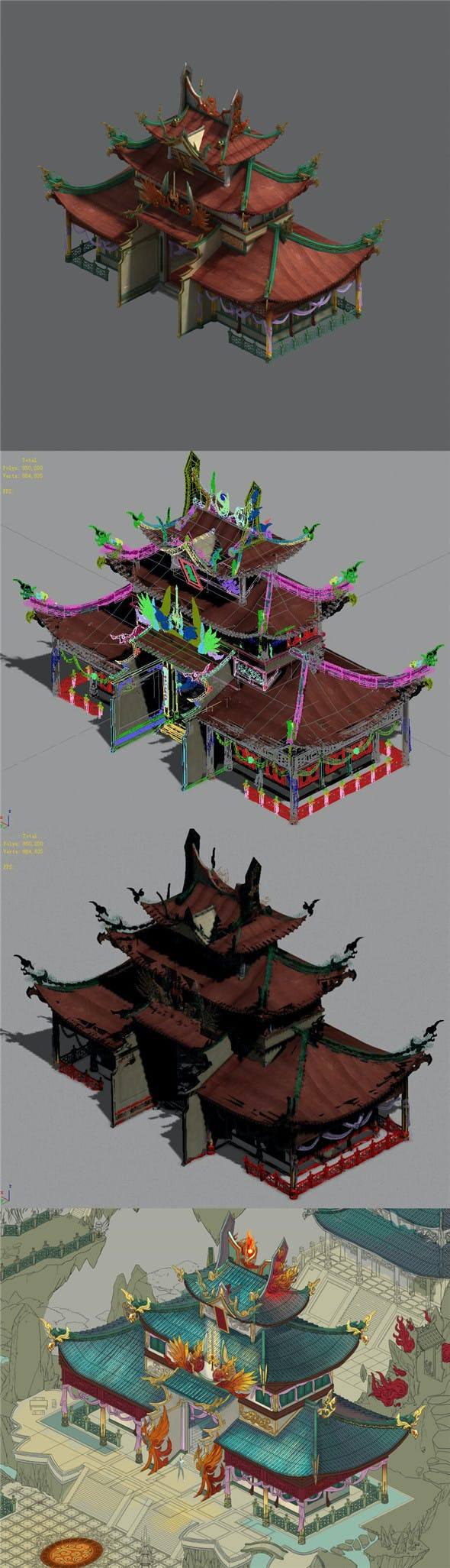 Shushan - palace - 3DOcean Item for Sale