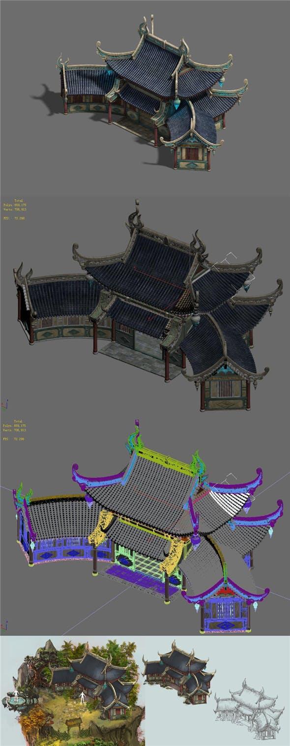 Shushan - Los North Room - 3DOcean Item for Sale