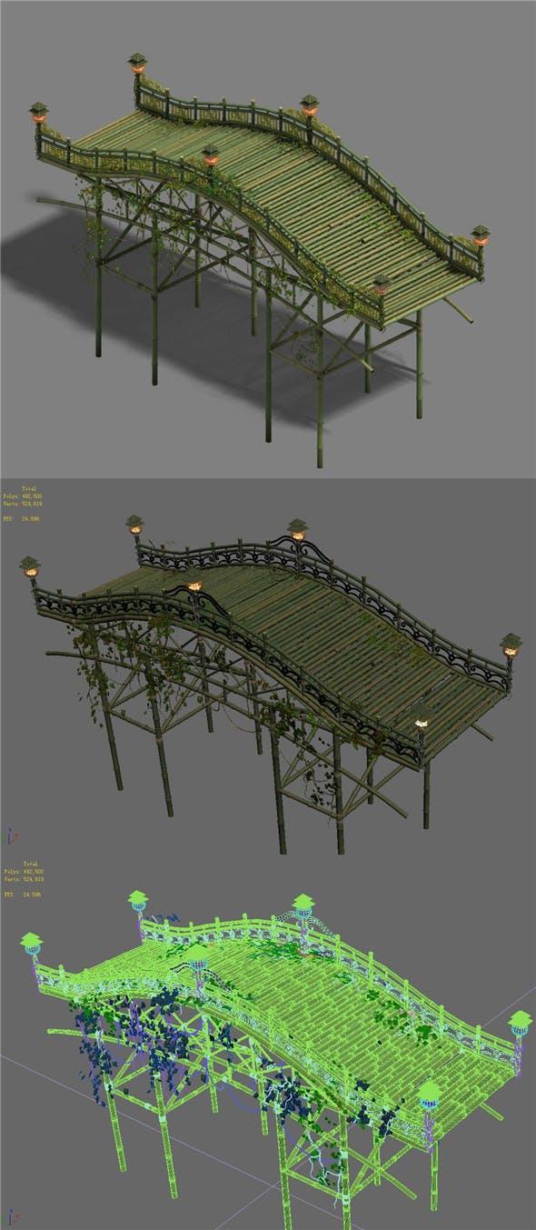 Shushan - bamboo bridge - 3DOcean Item for Sale