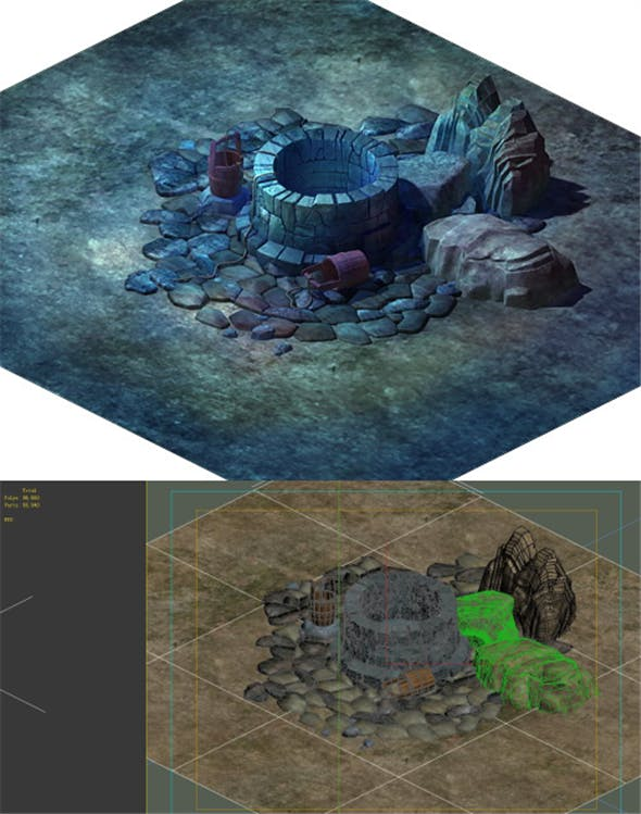 Game Model - Well 02 - 3DOcean Item for Sale