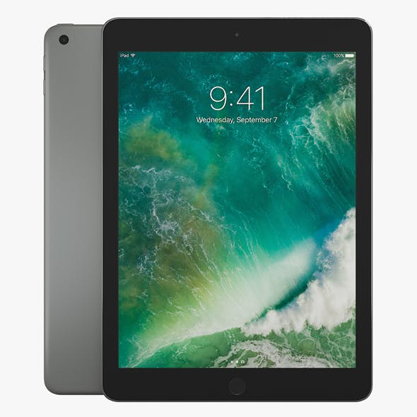 Apple iPad 9.7 2017 - 3DOcean Item for Sale