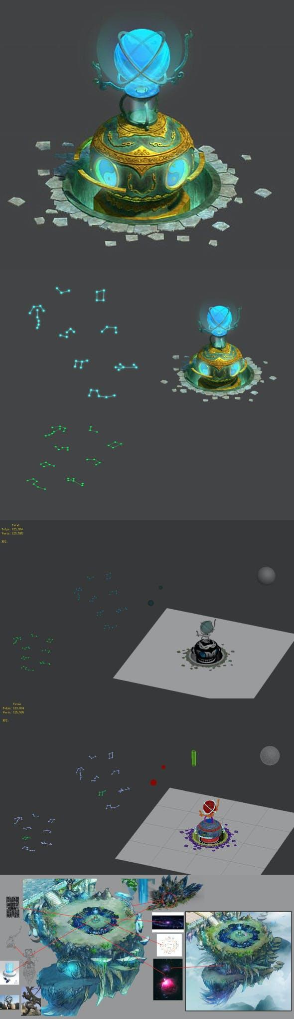 Astronomical instrument - Dan furnace 01 - 3DOcean Item for Sale