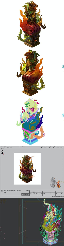 Game Model - Object Design - Fuhu - Furnace 01 - 3DOcean Item for Sale