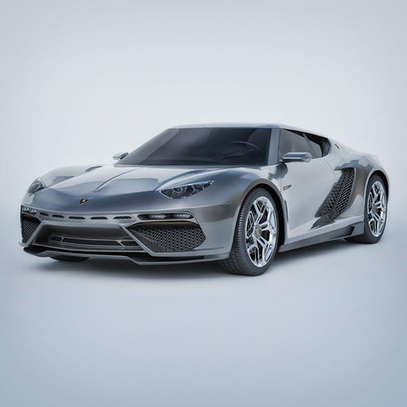 Vray Ready Lamborghini Asterion LP Car - 3DOcean Item for Sale