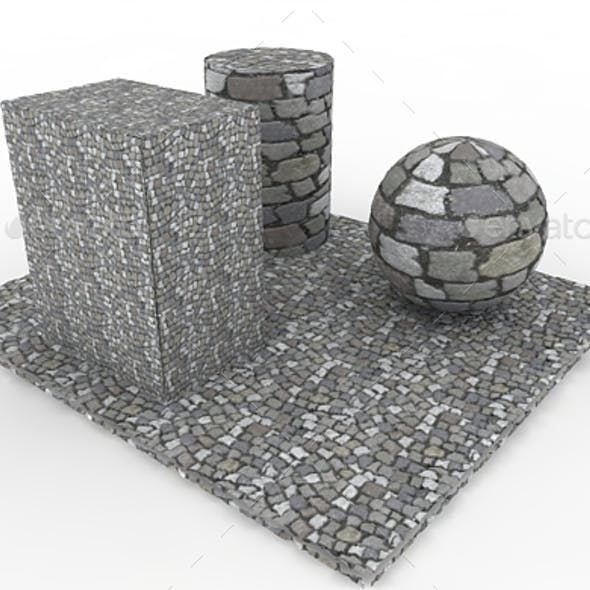 Cobble stones Pavement
