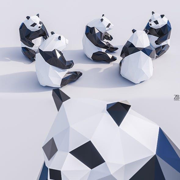 Lowpoly Panda