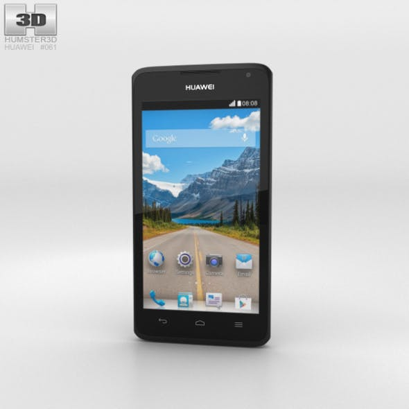 Huawei Ascend Y530 Black - 3DOcean Item for Sale