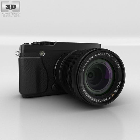 Fujifilm X-E1 Black - 3DOcean Item for Sale
