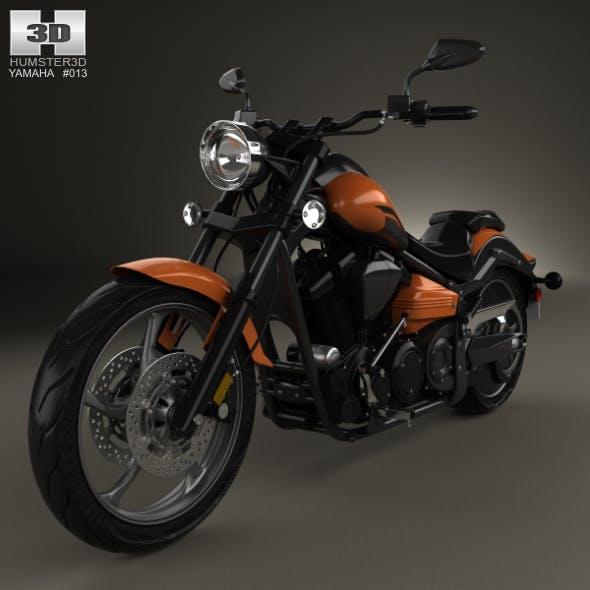 Yamaha Raider SCL 2013