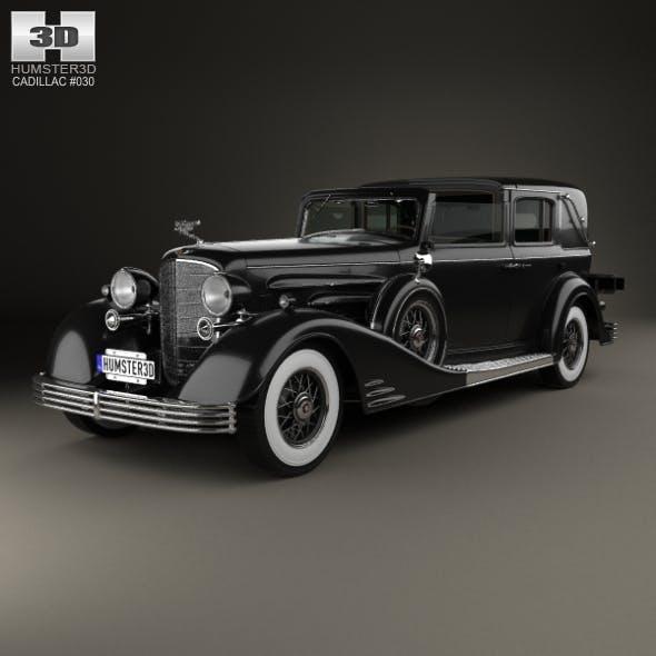 Cadillac V-16 town car 1933 - 3DOcean Item for Sale