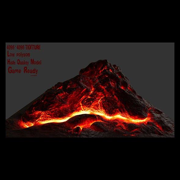 lava rock - 3DOcean Item for Sale