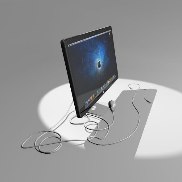 Monitr (APPLE) V2(+cord) - 3DOcean Item for Sale