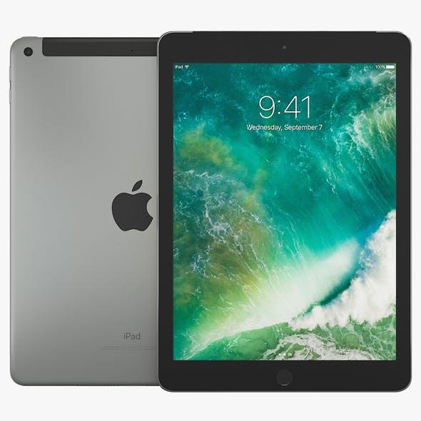 Apple iPad 9.7 2017 Wi-Fi + Cellular - 3DOcean Item for Sale
