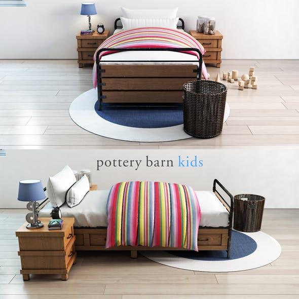 Pottery barn, Owen Platform Storage Bed