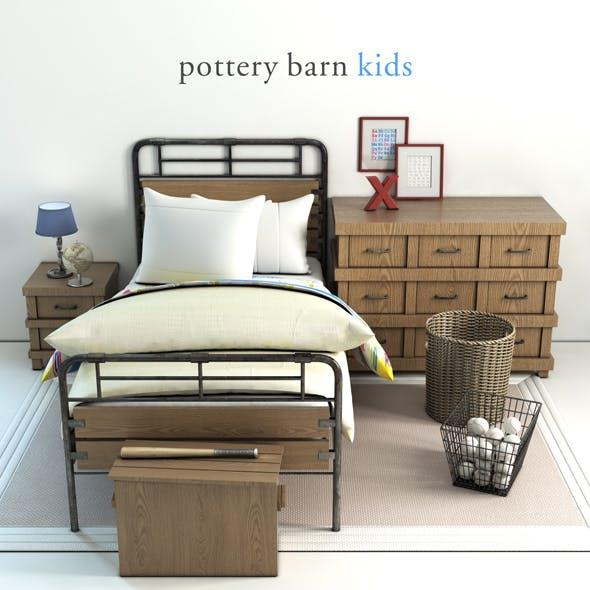 Pottery barn, Owen bed