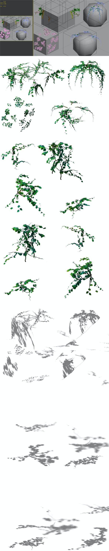 Game Model - prairie scene - Grass 04 01 - 3DOcean Item for Sale