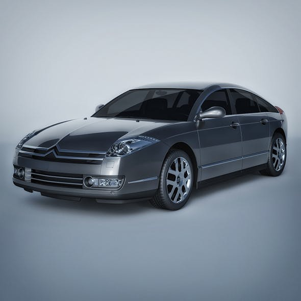 Vray Ready Citroen C6 Car - 3DOcean Item for Sale