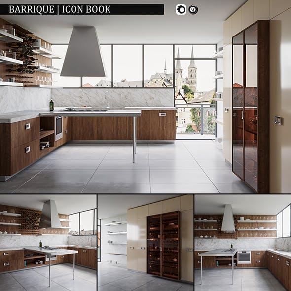 Kitchen Barrique Icon Book