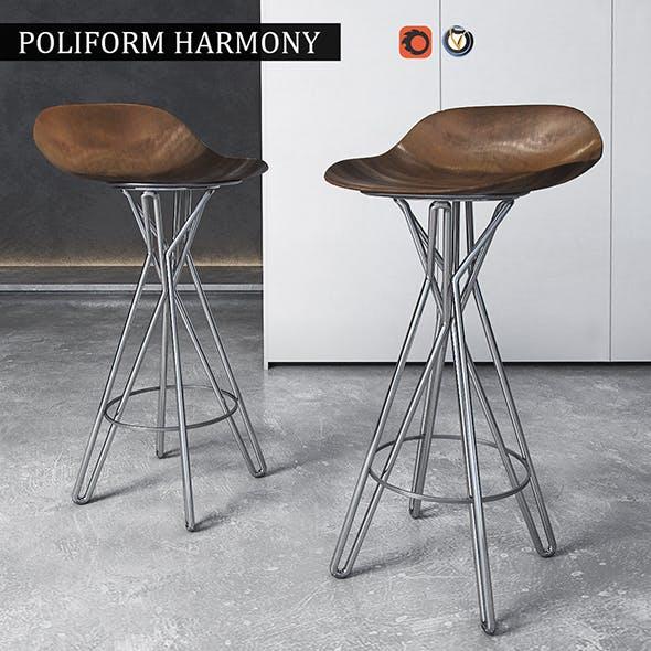 Chair Poliform Harmony - 3DOcean Item for Sale