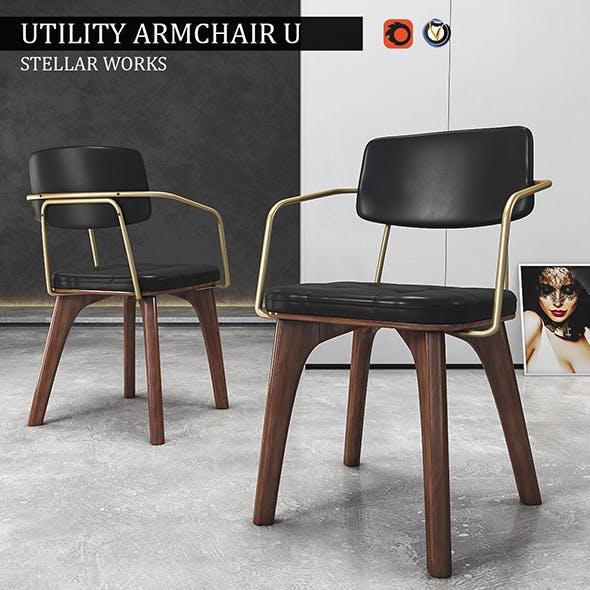 Chair Utility Armchair U