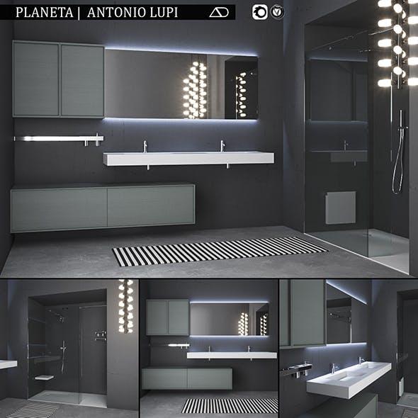 Bathroom furniture set Planeta